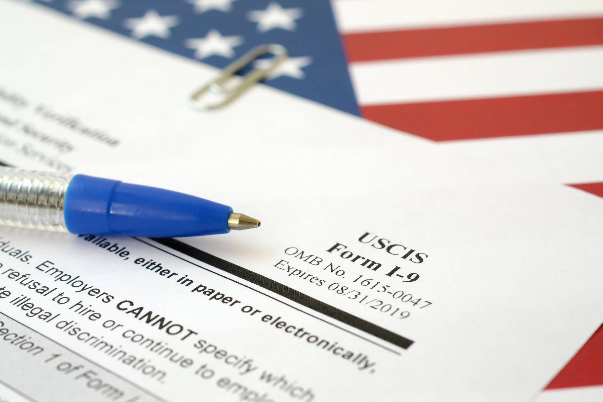 US: USCIS Issues Updated Guidance for Form I-9 Receipts